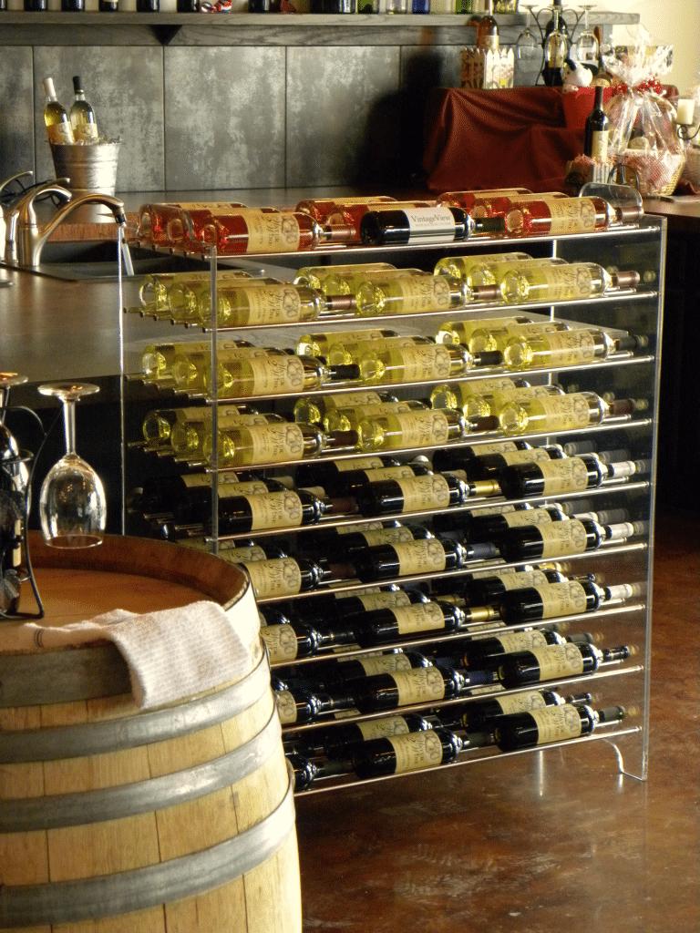 The Evolution of Contemporary Los Angeles Custom Wine Cellars VV Racks