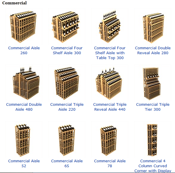 Check out these Commercial Wine Racks by Coastal