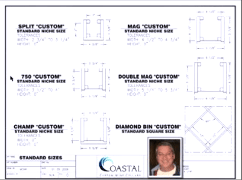 Watch this video featuring Coastal's Singel Bottle Wine Storage Racks!