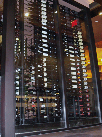 Commercial Wine Racks for The Capital Seafood Grill Irvine CA