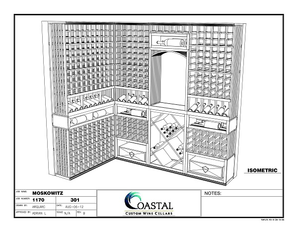 Read another article by Coastal Custom Wine Cellars by clicking here!