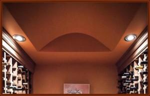 wine cellar lighting_recessed can