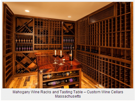 Wine Cellar Design - Custom Wine Racks & Cooling System