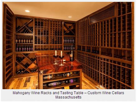 Wine Cellar Design - Custom Wine Racks & Cooling System