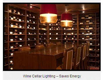 Wine Cellar Lighting - Wine Design Features